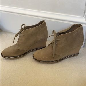 J. Crew Women's Wedge Suede Shoes